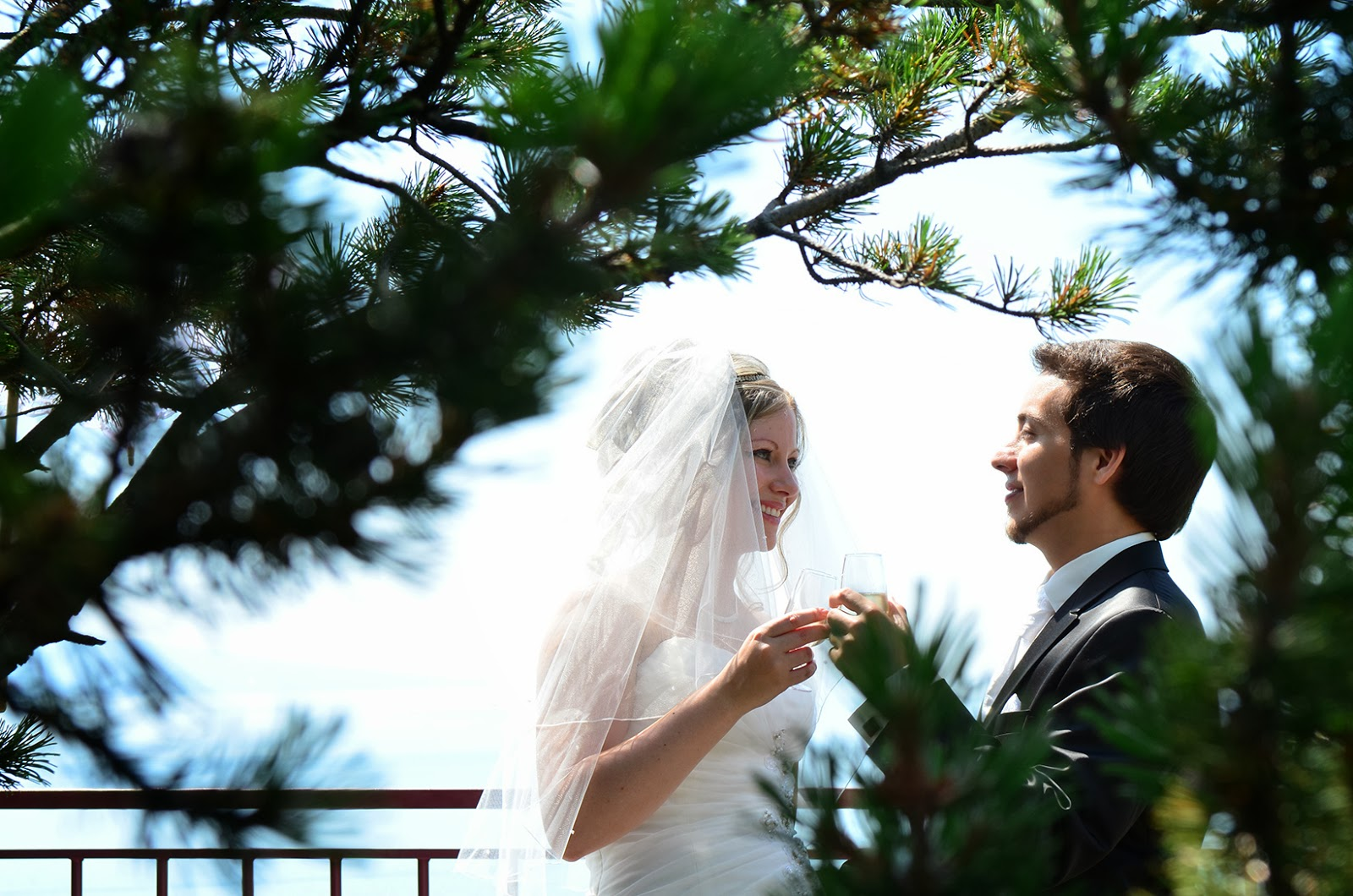 Photo de mariage au Fairemont Montreux Palace
